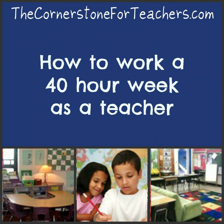 Tips for being a teacher and still having a life!