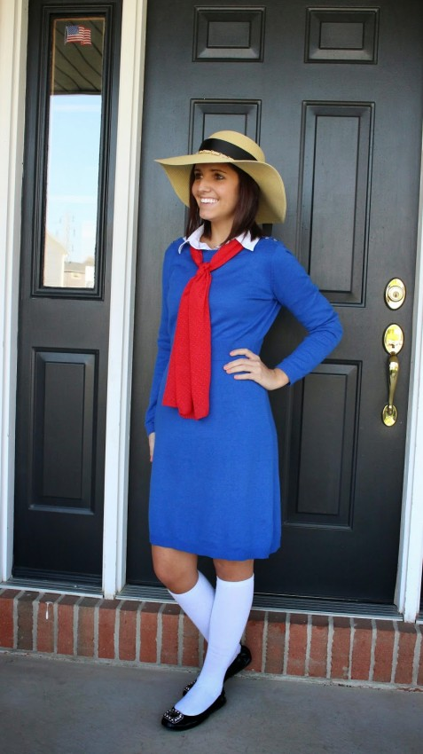 15 book character Halloween costumes for teachers: Madeline Halloween Costume
