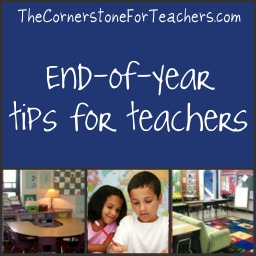 End of year tips for teachers