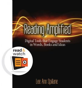 "Win a digital copy of ""Reading Amplified: Digital Tools That Engage Students in Words, Books, and Ideas"" plus two other Read & Watch books by Stenhouse! They have videos embedded so you can watch the teaching strategies being implemented in real classrooms. Five winners will be selected on Dec. 12."