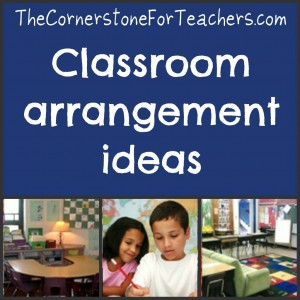 classroom arrangement ideas
