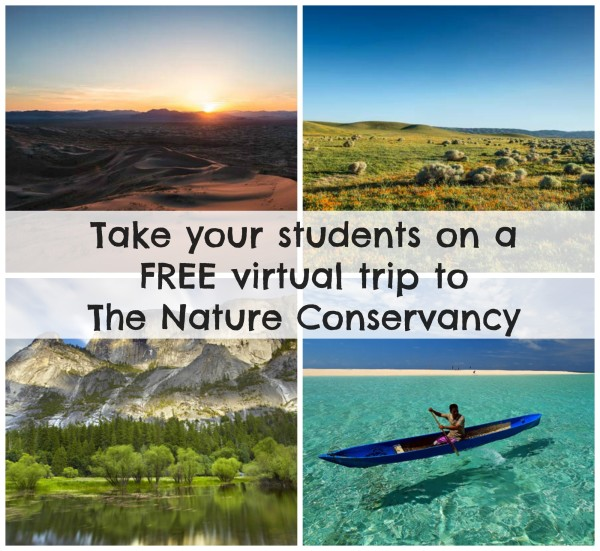 Take your students on a free virtual field trip to The Nature Conservancy