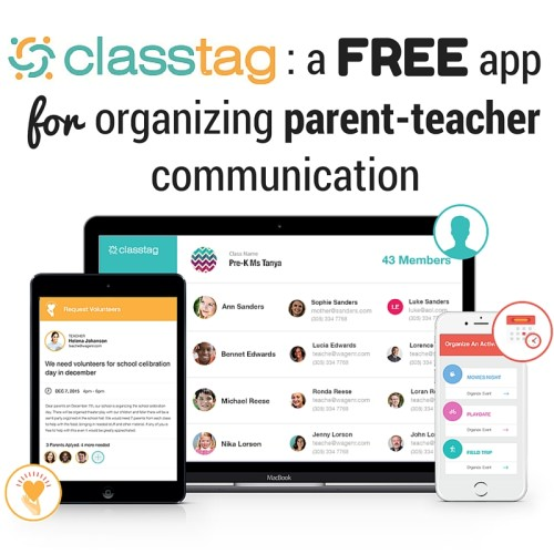 Class Tag: A free app for organizing parent-teacher communication