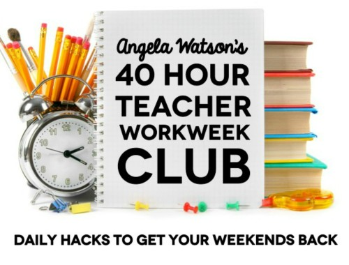 3 online summer events for teachers to get inspired & motivated for fall: The 40 Hour Teacher Workweek Club