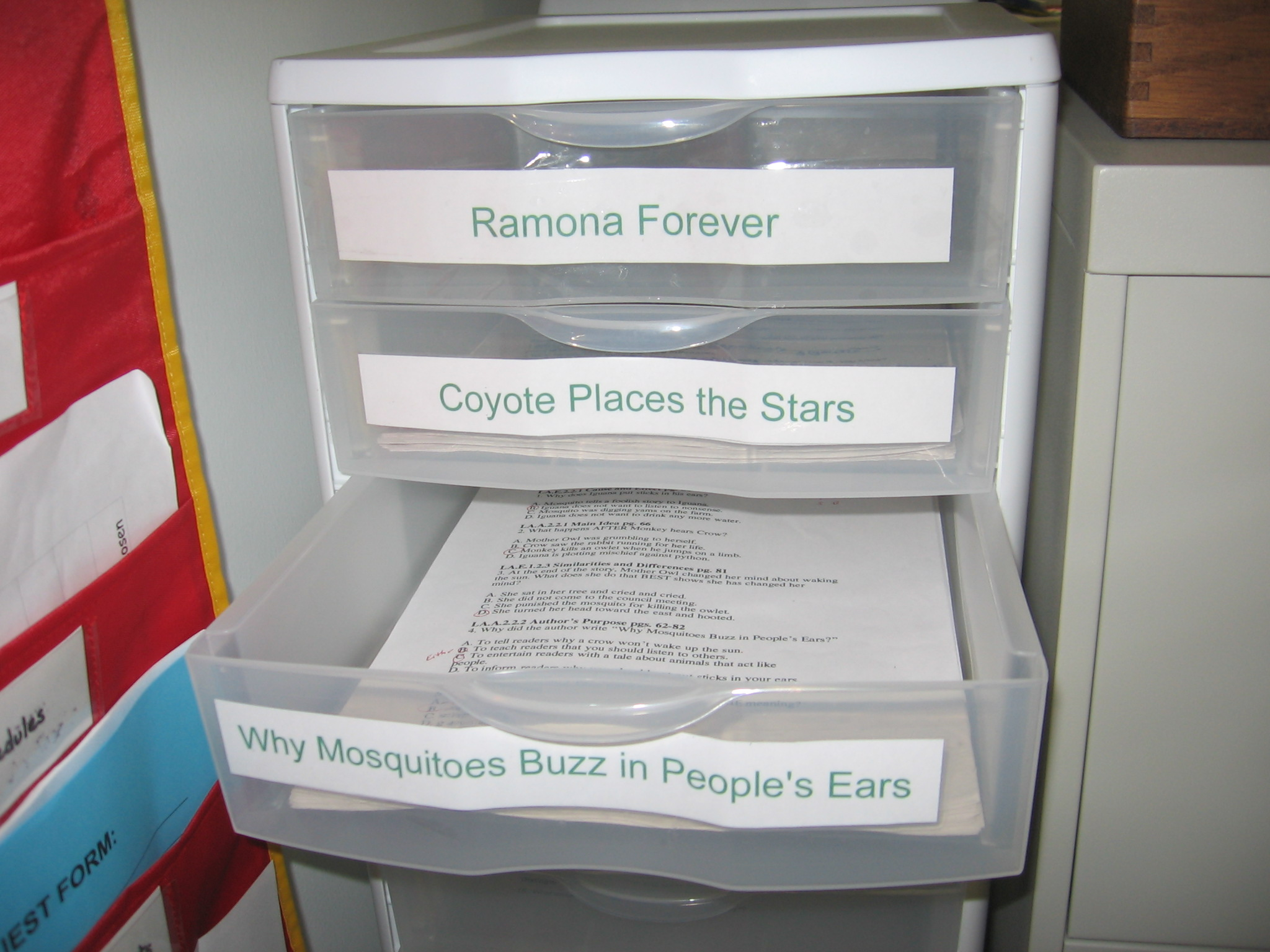Ideas for Organizing Lesson Materials and Files - The Cornerstone ...