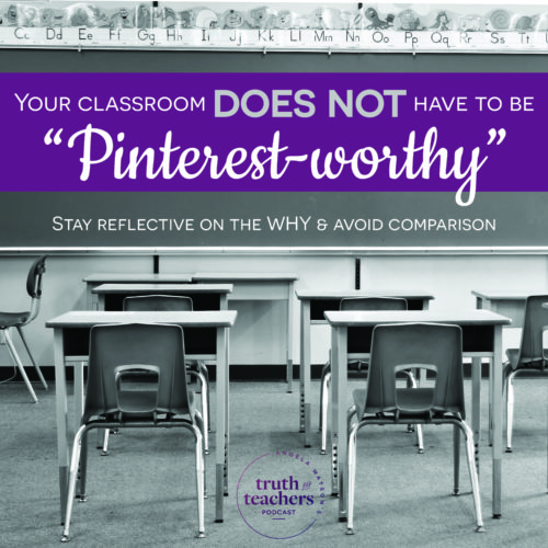 Your classroom does not have to be Pinterest-worthy